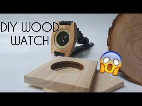 How to make a Wooden Watch ( Amazing DIY !!! )