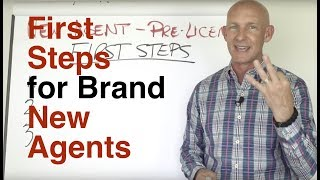 FIRST STEPS FOR BRAND NEW REAL ESTATE AGENTS - KEVIN WARD