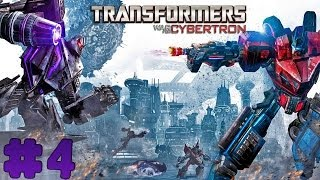 Transformers: War for Cybertron - Walkthrough - Part 4 - Death of Hope (PC) [HD]