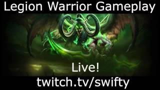 Swifty Legion Warrior! Live Now!