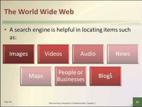 CSC30305 Topic 7 The Internet and the World Wide Web