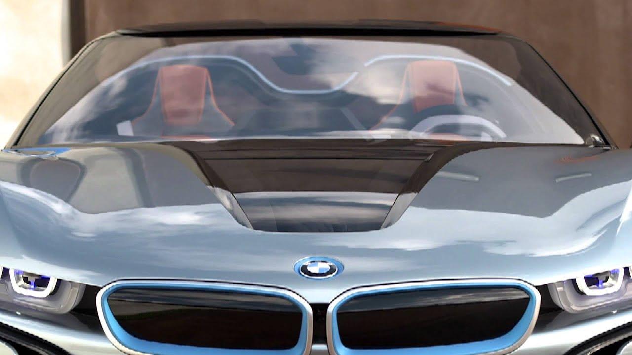 I8 Exterior: BMW I8 Concept Spyder Interior Y Exterior Estática