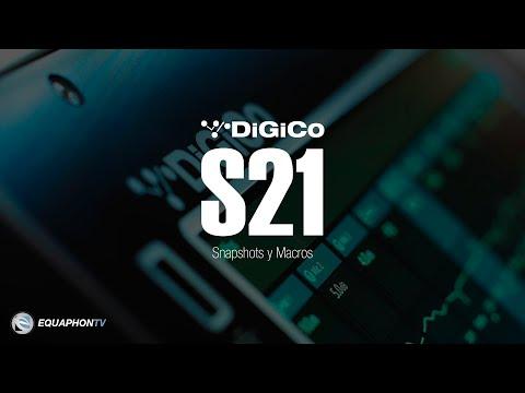 DiGiCo S21 - Snapshots y Macros