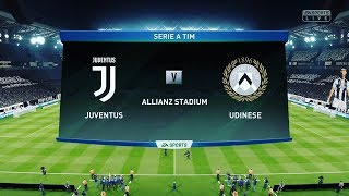 FIFA 19   Juventus vs Udinese   Serie A   Gameplay