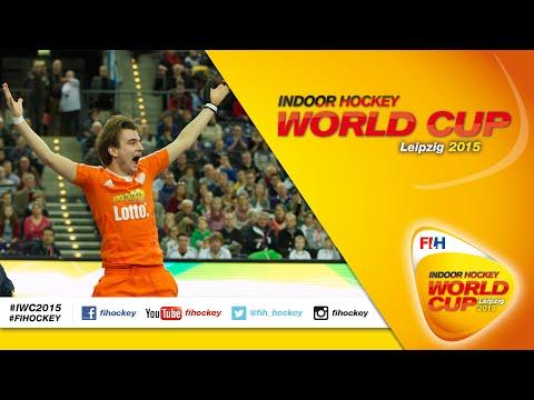 Netherlands vs Sweden - Full Match Men's Indoor Hockey World Cup 2015 Germany Quarter-Final