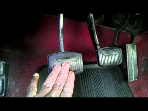 HELP MY CLUTCH PEDAL IS BROKE :(