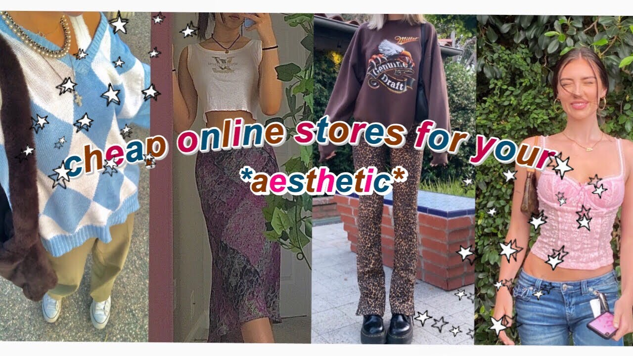 cheap online stores for your aesthetic 2020 (indie,alt,soft girl & more...)