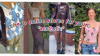 cheap online stores for your aesthetic 2020 (indie,alt,soft girl & more...) screenshot 2