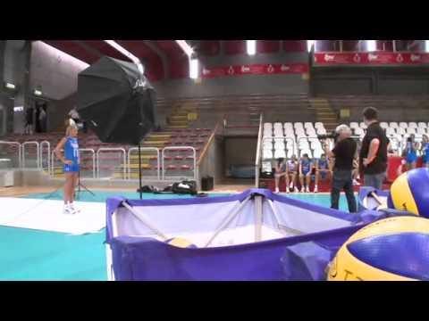 La nazionale di volley femminile si prepara ai Campionati Europei 2011
