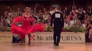 Savaria 2013 - European Ch.10D - solo Quickstep - Miha Vodicar & Nadiya Bychkova