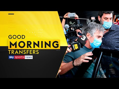 Messi's father lands in Barcelona for contract crunch talks 👀 | Good Morning Transfers