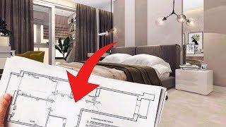 перепланировка двухкомнатной квартиры в трехкомнатную - Ремонт квартир в СПБ дизайн интерьера
