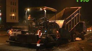 Комплексный ремонт дорог ведется на участке от Московского шоссе до улицы Аэродромной