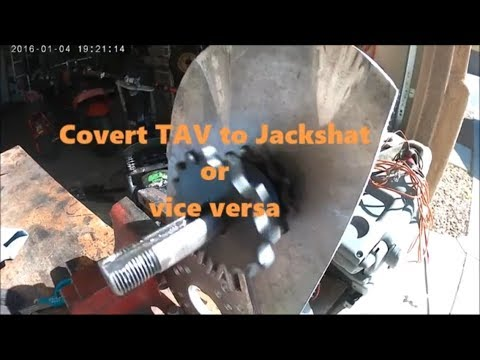 Modify Torque Converter to Jackshaft tips