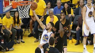 Steph Curry Highlights NBA Finals Game 2 - His First Triple Double In NBA Finals!