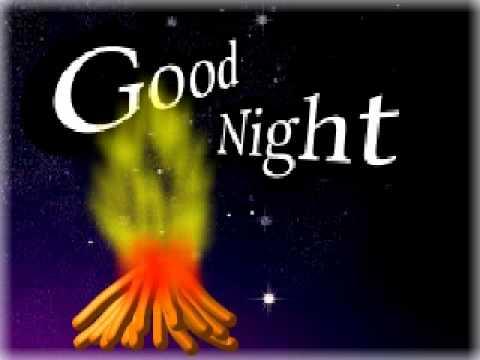 Animation Card Good Night Youtube