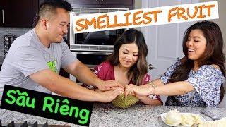 We Tried Durian- The World's Most Divisive Fruit (Ăn Sầu Riêng Với Bạn)