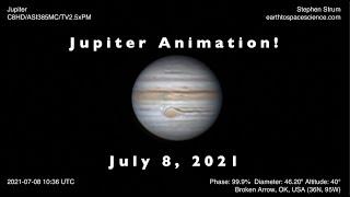 Jupiter Animation: Images of J…
