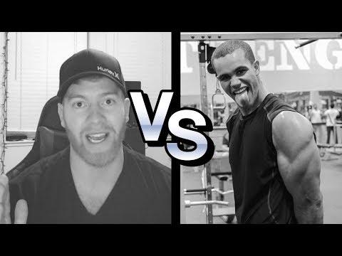 KENNY K.O. vs Vegan Gains