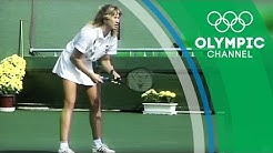 Steffi Graf is the only Tennis player to ever win a Calendar Golden Slam | Throwback Thursday