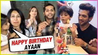 Arjun Bijlani Son BIRTHDAY Party With Karanvir Bohra Family