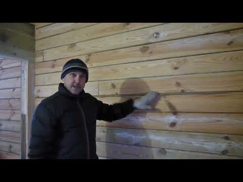 Конопатка дома из бруса своими руками