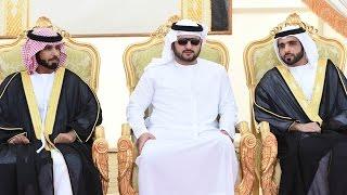 مكتوم بن محمد يحضر أفراح الفلاسي والسبوسي والمنصوري