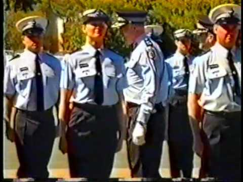 West Australia Police Service Recruit Graduation - December 2001