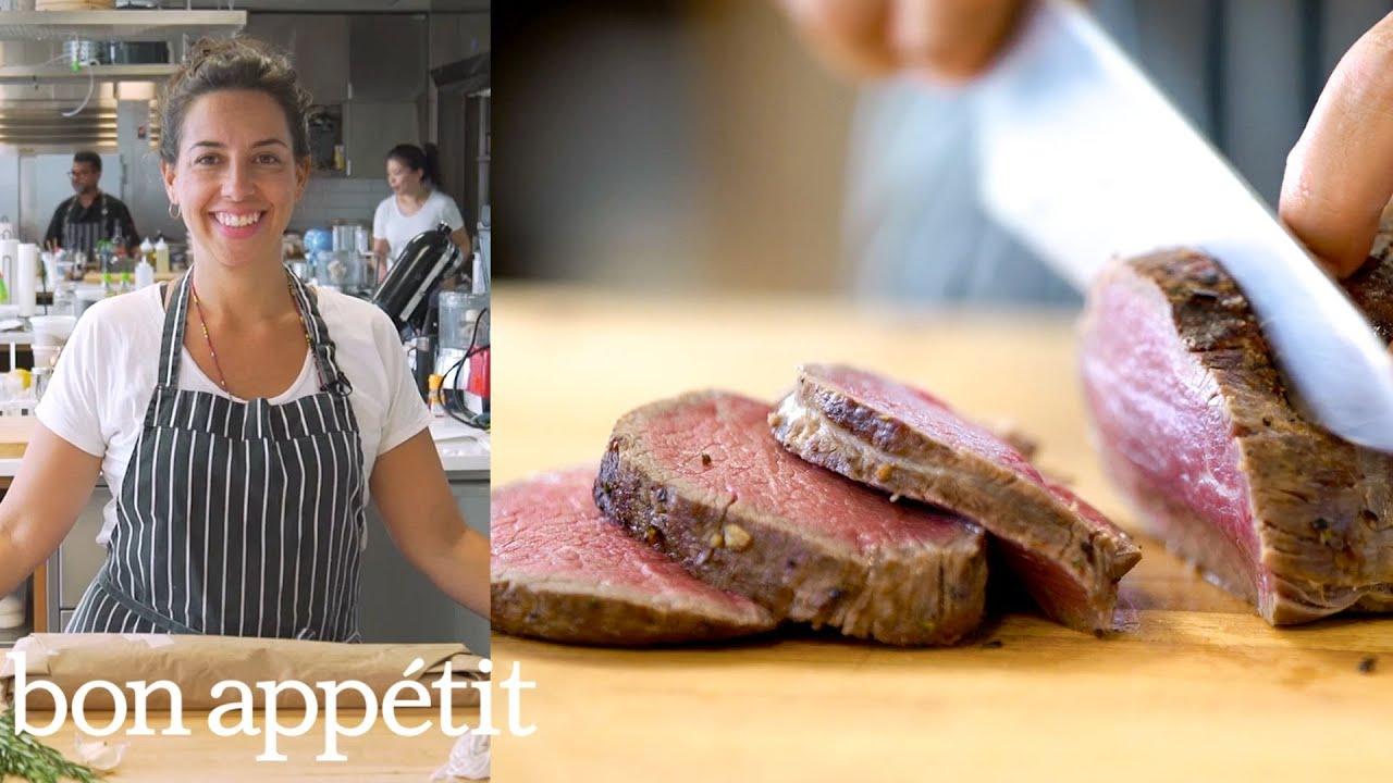 Carla Makes Roasted Beef Tenderloin | Bon Appétit