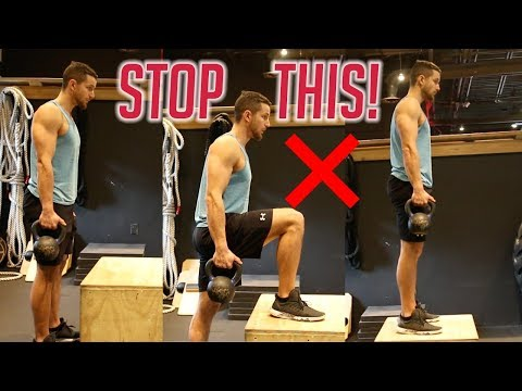 How To PROPERLY Perform Step Ups | 3 Muscle Gain Variations Included