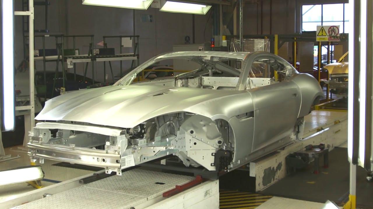 Jaguar F-Type Production - YouTube