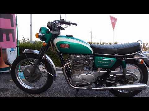 YAMAHA  XS1 1970 始動動画