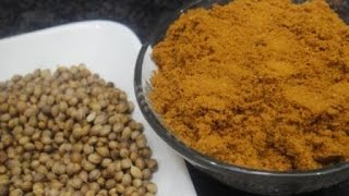 Coriander  | How To Select, Buy Coriander Seeds | Home-Made Powder in tamil | Gowri Samayalarai