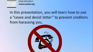 How to write a Cease and Desist Letter, 2014