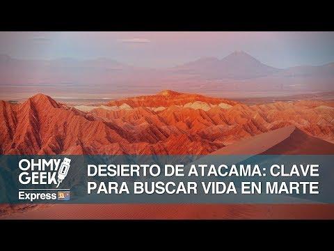 El Desierto de Atacama es clave para encontrar vida en Marte 🚀