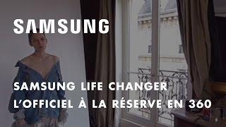 Samsung et L'Officiel présentent les coulisses des 95 ans de L'Officiel en 360° à la Réserve