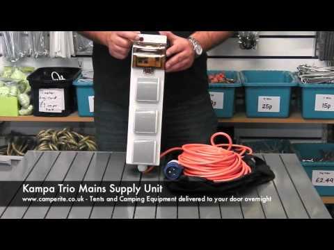 Kampa Trio Mains Supply Unit
