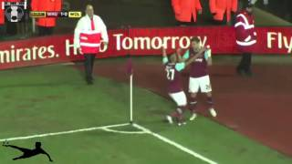 Jelavic volleys in for West Ham in dying minutes