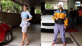 Arjun Patiala | Diljit Dosanjh, Kriti Sanon promote their upcoming film