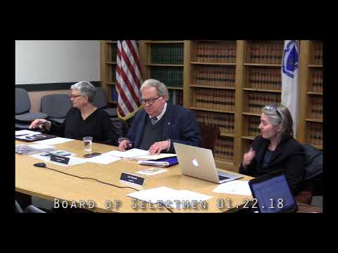 Board of Selectmen 01.22.18