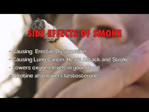 How does smoking affect your sex life