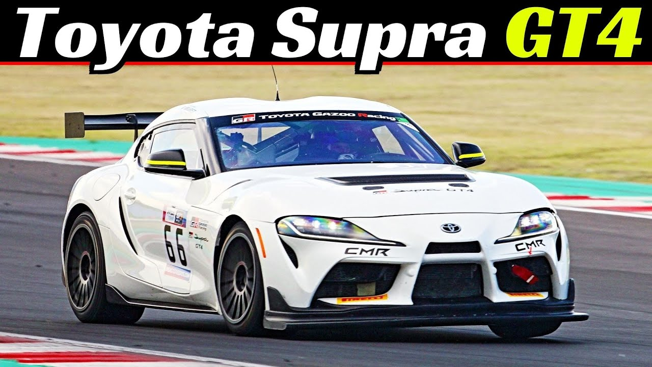 2020 Toyota GR Supra GT4 - Kateyama Test Days Misano, 430Hp 3.0-Litre Twin-Scroll Turbo Engine Sound