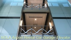 Elevator @ New Orleans Airport Rental Car Garage
