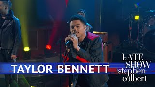 Taylor Bennett Performs 'Streaming Services'