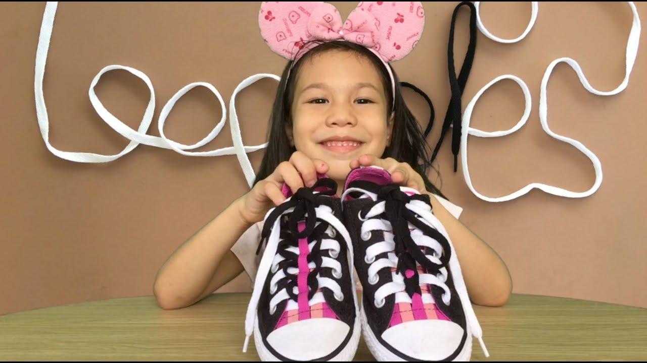 779398e90775 Converse Loopholes Shoelace Design by Sofi - YouTube