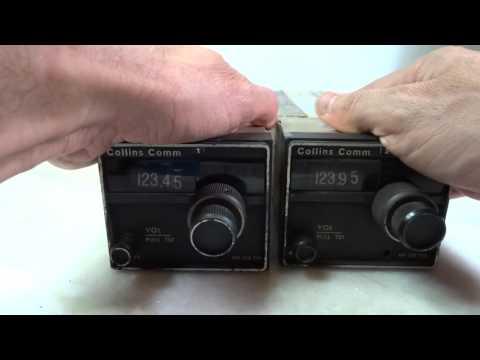 Collins VHF-250/Avionics/Aircraft radio/Radioamador