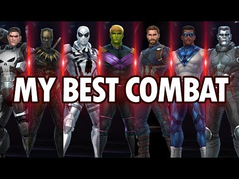 All Combat Characters Ranking From Worst To Best - MARVEL Future Fight