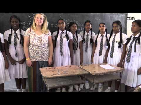 Sri Lanka School Schule Girls Boys Reportage nachTsunami aufbau