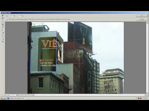 Photoshop CS4 - Phan 1 - Bai 24 - Vanishing Point