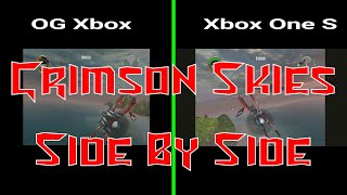Crimson Skies Side by Side:  Xbox vs. Xbox One S